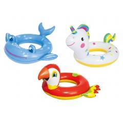 b830dabb0ea549 Dmuchane kółko do pływania dla dzieci Wesołe Zwierzęta Bestway 36128