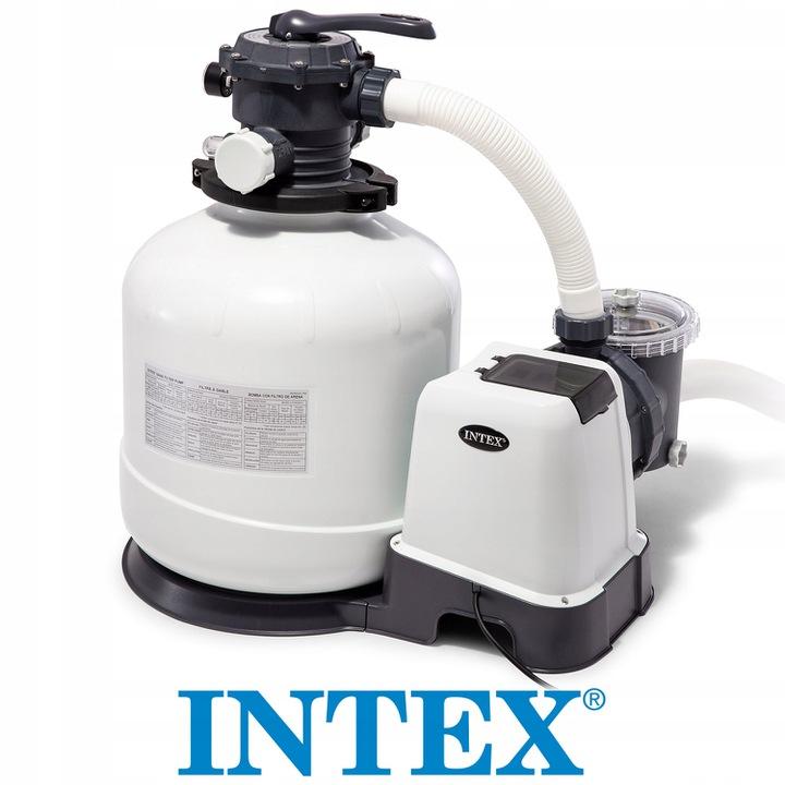 Pompa Filtrujaca Piaskowa 12000 L H Intex 26652 Baseny Ogrodowe Na Baseneo Pl